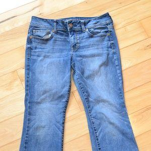 AMerican eagle Jeans 10s 10 short kick boot super